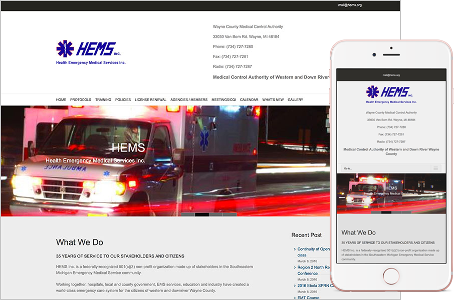 HEMS.org Website
